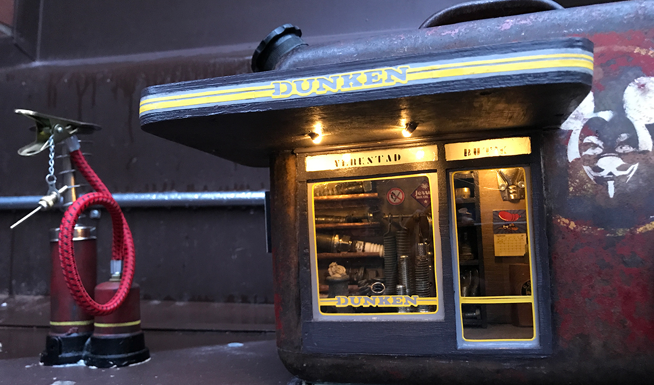 "AnonyMouse opens ""Dunken"" in Borås"